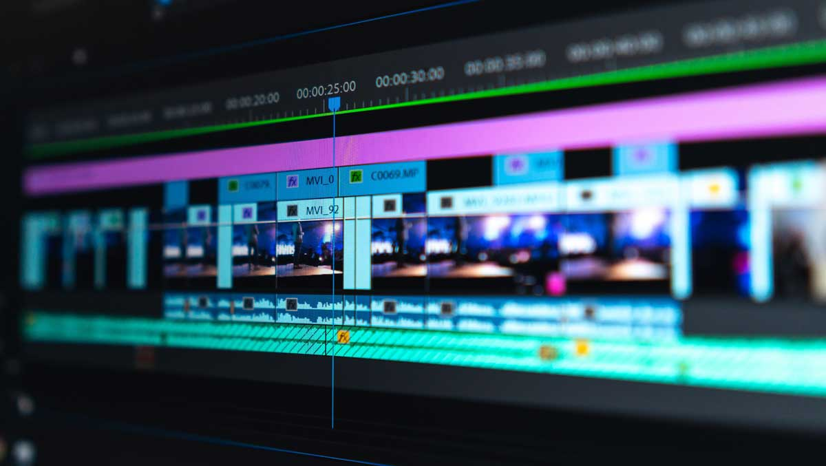 Post-Production header background